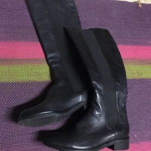 Cole haan Black tall boots